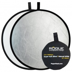 Rogue 2-in-1 Reflector Silver/White 32""
